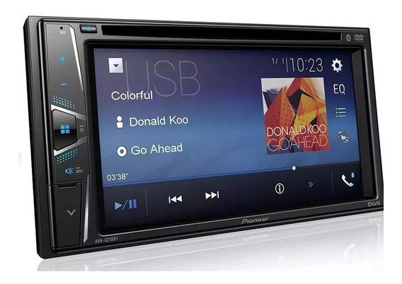 Dvd Player Automotivo Pioneer Avh-g218bt Bluetooth 2din Usb