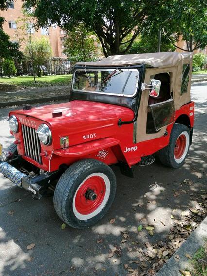 Willys Modelo 54 Yipao - 3 Cambios Original