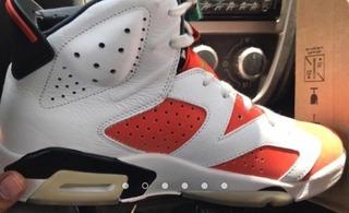 Nike Air Jordan 6 Gatorade T-27 Cms Original 100%