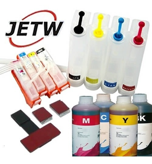 Bulk-ink Jetw B209 3520 3522 B210 C310 564 S/ Chip + Tinta