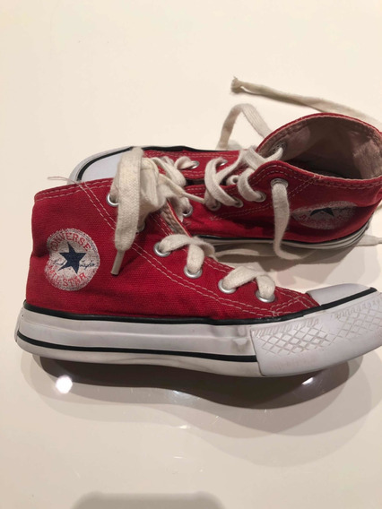 Zapatillas Botitas Converse All Star Talle 28
