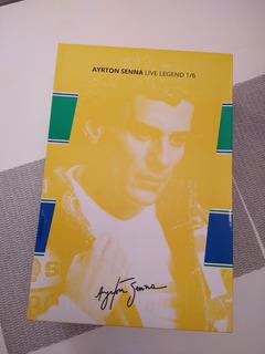 Ayrton Senna Live Legend 1/6 Iron Studios Ed.limitada N/184