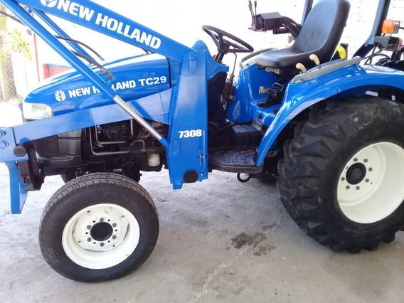 Excelente Tractor New Holland. + Implementos. Rastra. Aparte