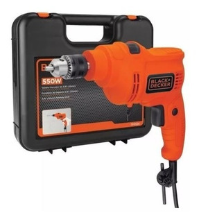 Taladro Percutor 550w 10mm Black & Decker 2 Años Garantia
