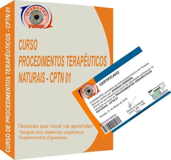 Curso Procedimentos Terapêuticos Naturais - Cptn 01