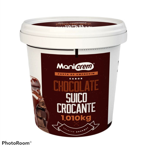 Imagem 1 de 3 de Manicrem Creme Pasta Amendoim Integral Premium Gourmet 1kg