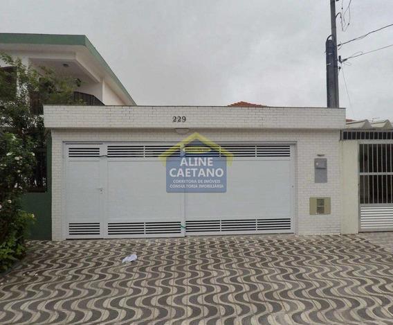 Casa Com 3 Dorms, Boqueirão, Praia Grande - R$ 440 Mil, Cod: Ac4159 - Vac4159