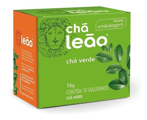 Imagem 1 de 1 de Chá Leão - Chá Verde 10 Sachês
