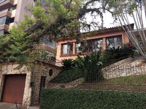 Casa Em Higienópolis Com 4 Dormitórios - Su88
