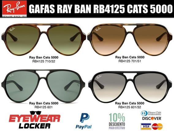 Gafas Ray Ban Cats 5000 Rb4125 100% Originales