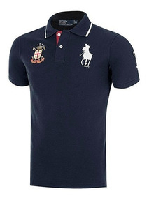 Playera Polo Hpc 6735 Color Marino Caballero Pv