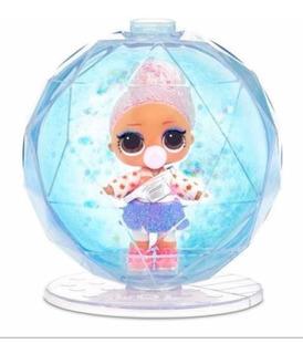 Muñeca Sorpresa Modelo Glitter Winter Disco(conmúsica Y Luz)