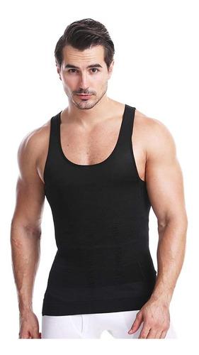 Imagen 1 de 8 de Whatafit Camiseta Faja Playera Reductora Moldeadora Hombre