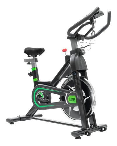 Imagen 1 de 2 de Bicicleta fija Altera Spal ALT550-6 para spinning negra y verde