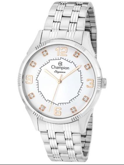 Relógio Champion Feminino Prata Cn25814q