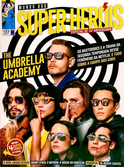 Revista Mundo Dos Super-heróis The Umbrella Acad. N°123