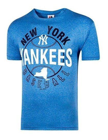 Playera Yankees Majestic Baseball Tee Play-mcmaj Impo19
