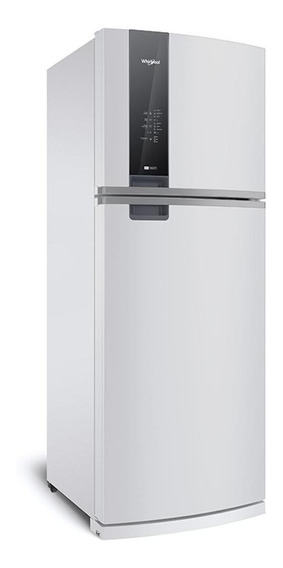 Heladera no frost Whirlpool WRM56 blanca con freezer 462L 220V