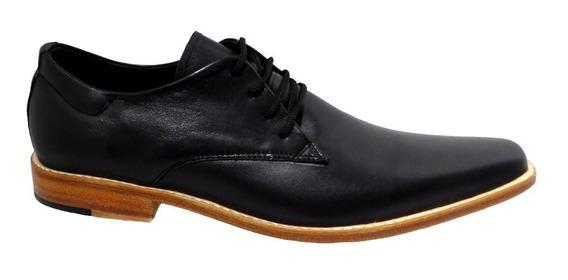 Calzado Zapato De Cuero Fondo De Suela. Art 280