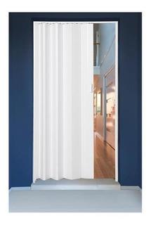 Porta Sanfonada Em Pvc 210x72cm Branca