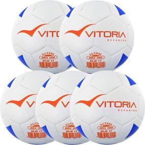 Kit 5 Bolas Futsal Vitoria Brx Max 100 Sub 11 (9/11 Anos)