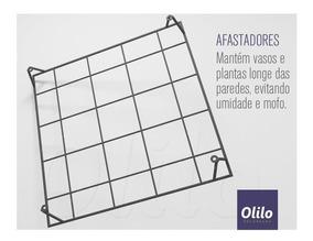 Painel Jardim Vertical Modular Ferro Unidade 43x43cm - Olilo