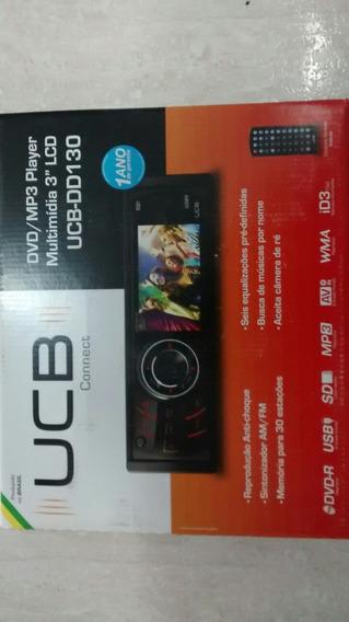 Aparelho Dvd Ucb Dd130 Multimídia 3 Lcd