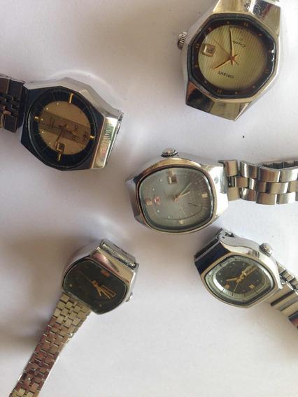 Lote De Reloj Orient Automáticos Para Dama