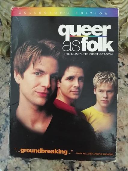 Queer As Folk - Temporada 1 - Dvd Collector´s Edition Import