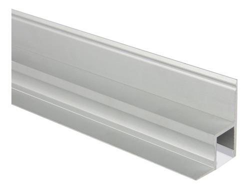 Perfil Aluminio Con Soporte Para Yeso Ideal Tira O Cinta Led