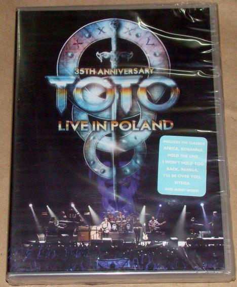 Toto Live In Poland 35th Anniversary Dvd Sellado Argentino