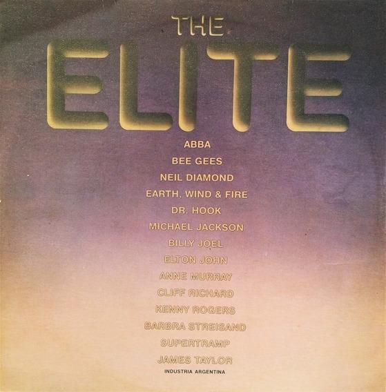 The Elite - Abba - Bee Gees - Elton John - Supertr Lp Roc@