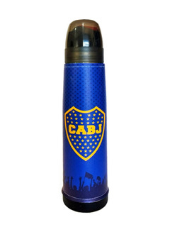 Termo Acero Inoxidable Lumilagro Luminox 1 L Boca Juniors