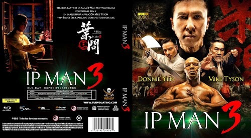 Ip Man 3 - Donnie Yen & Mike Tyson (blu-ray)
