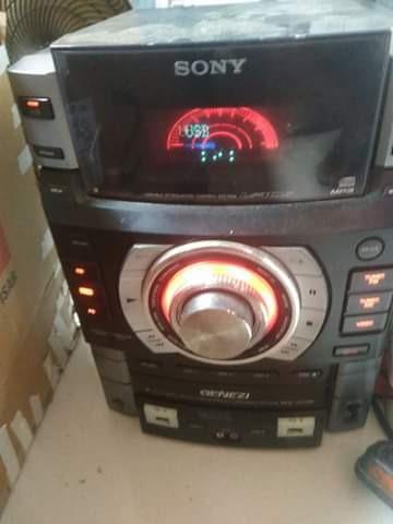 Mini System Sony Gtr 8/placa De Comando Central