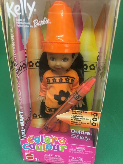Kelly Color Couleur Barbie Deidre Amiga Negra 2003