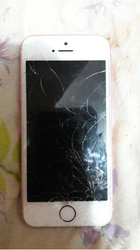 Imagem 1 de 7 de iPhone SE Rosa 16gb