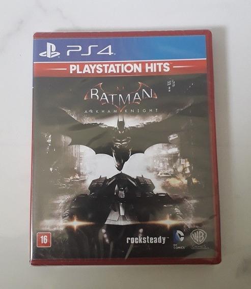 Jogo Batman Arkham Knight Ps4 Dublado Português Novo Física