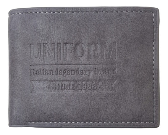 Exclusiva Billetera Uniform Mod Tally 100% Original Cuero Pu