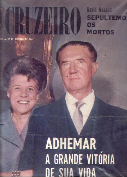 O Cruzeiro 1962.adhemar.jk.marilyn.sergio Ricardo.bahia.arte