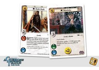 Card Games Guerra Dos Tronos Vinculos Sagrados - Oferta!