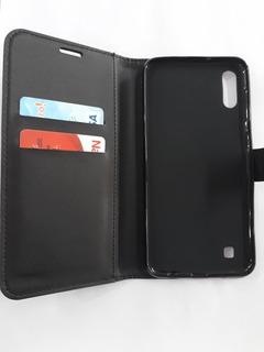 Funda Agenda Billetera Libro Protectora Samsung Galaxy M10