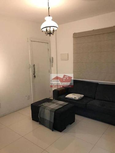 Apartamento Com 1 Dormitório Para Alugar, 46 M² Por R$ 2.000,00/mês - Liberdade - São Paulo/sp - Ap11485