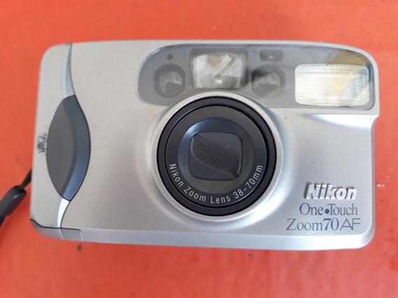 Câmera Nikon One Touch Zoom 70af