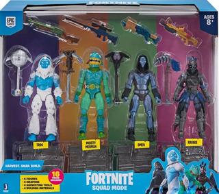Fortnite Set 4 Figuras Y Accesorios 10cm Itm Fnt0109