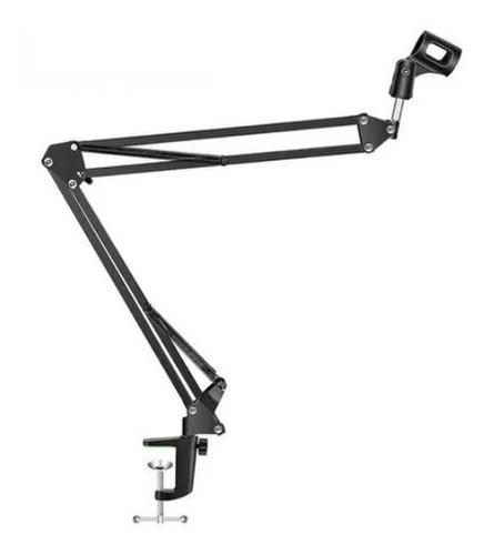 Imagen 1 de 8 de Brazo Soporte Articulado Para Micrófono Hugel De Metal