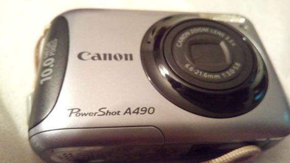 Cámara Canon Power Shot A490