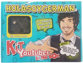 Kit Youtuber In The Box Hola Soy Germán