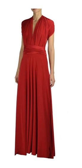 2b6e2ca0a72a Vestido Rojo Para Fiesta Largo - Largo de Mujer en Mercado Libre México