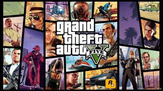 Grand Theft Auto Gta V Pt-br Atualizado Pc